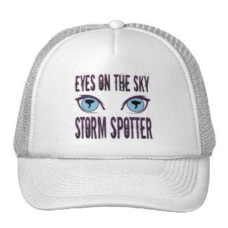 EYES ON THE SKY STORM SPOTTER TRUCKER HAT