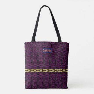 Eyes on You Modern Designer-4  Purple Gold Bag