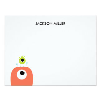 Eyes On You | Personalized A2 stationery Card