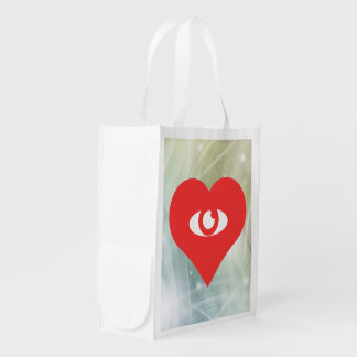 eyes Pictogram Grocery Bag