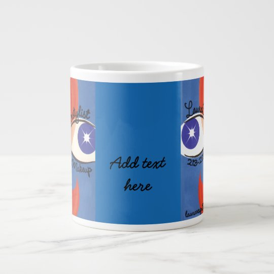 Eye's see beauty_ giant coffee mug