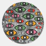EYES Series Round Stickers