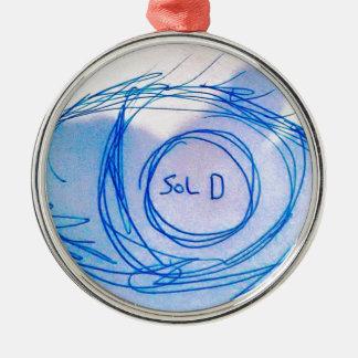 Eyes Sold Metal Ornament