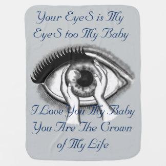 Eyes Swaddle Blanket