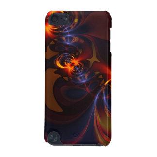 Eyes & Swirls – Amber & Indigo Delight iPod Touch 5G Cover