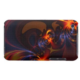 Eyes & Swirls – Amber & Indigo Delight iPod Touch Case-Mate Case