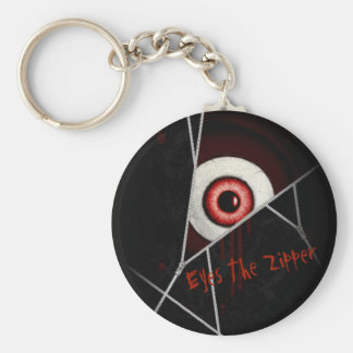 Eyes The Zipper Keychain