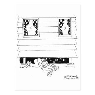 Eyes Under The House Postcard