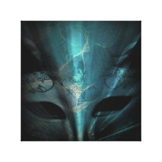 Eyes Under Water Canvas Print