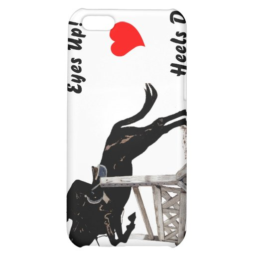 Eyes Up! Heels Down! Equestrian  Cover For iPhone 5C