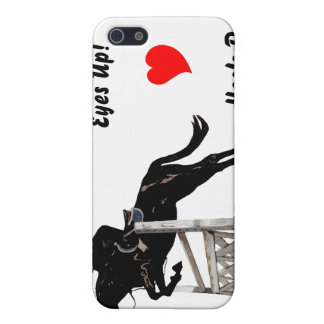 Eyes Up! Heels Down! Equestrian  iPhone SE/5/5s Case
