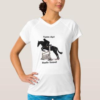 Eyes Up! Heels Down! Horse T-Shirt
