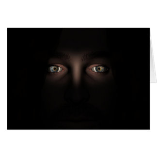 Eyes Without A Face Greeting Card