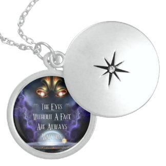 Eye's Without A Face Locket Necklace
