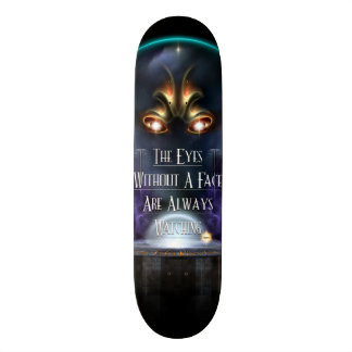 Eye's Without A Face Skateboard Deck