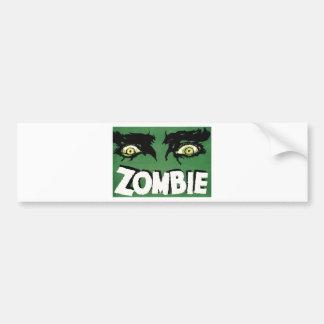 EYES ZOMBIE Zᴏᴍʙɪ Zᴜᴍʙɪ  Spirit  Halloween Bumper Sticker