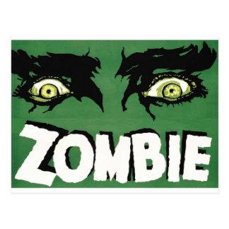 EYES ZOMBIE Zᴏᴍʙɪ Zᴜᴍʙɪ  Spirit  Halloween Postcard