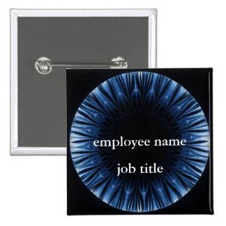 Eyesight Employee Name Tag Button