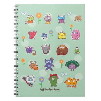 eyesore monsters group notebook