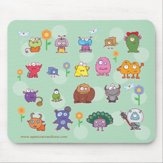 eyesore monsters mousepad