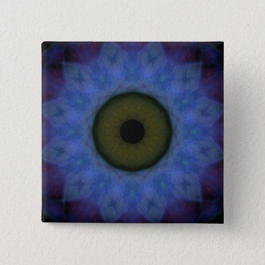 Eyesore Violet Blue Evil Eye Button