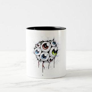 eyesores coffee mug