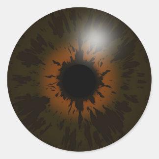 eyesticker etiquetas redondas