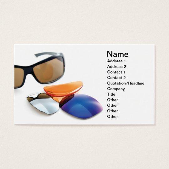 Eyewear Business Card