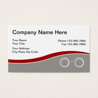 Eyewear Business Cards