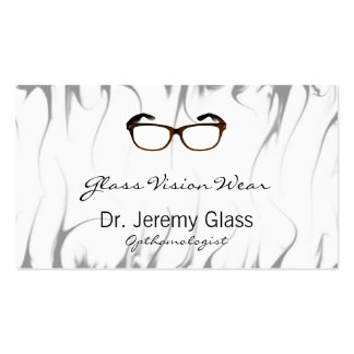 Eyewear Glasses Business Card