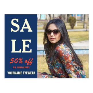 Eyewear Store Sale   Direct Mail Marketing Postcard