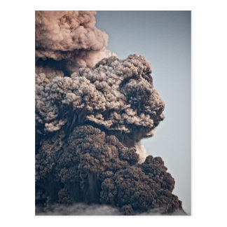 Eyjafjalljokull Volcanic Eruption Postcard