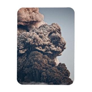 Eyjafjalljokull Volcanic Eruption Rectangular Photo Magnet