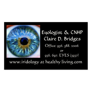 eyology card. business card templates