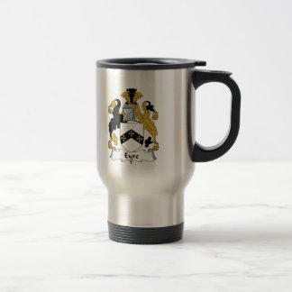 Eyre Family Crest 15 Oz Stainless Steel Travel Mug