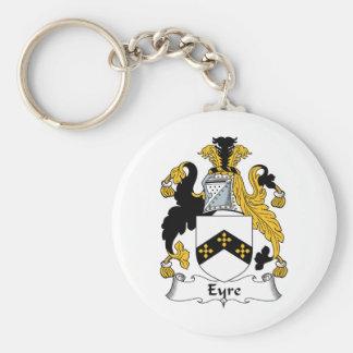 Eyre Family Crest Basic Round Button Keychain