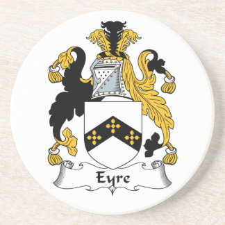 Eyre Family Crest Beverage Coasters