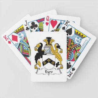Eyre Family Crest Bicycle Playing Cards