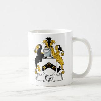 Eyre Family Crest Classic White Coffee Mug