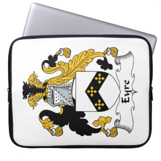 Eyre Family Crest Computer Sleeves