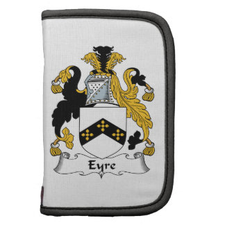 Eyre Family Crest Folio Planners