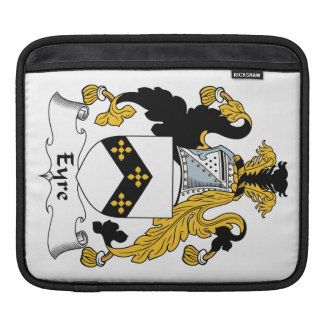 Eyre Family Crest iPad Sleeves