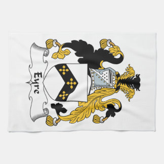 Eyre Family Crest Kitchen Towels