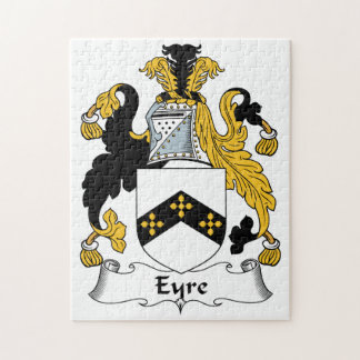 Eyre Family Crest Puzzle