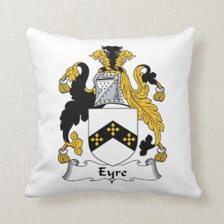 Eyre Family Crest Throw Pillows