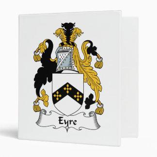 Eyre Family Crest Vinyl Binder
