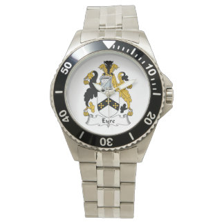 Eyre Family Crest Wrist Watch