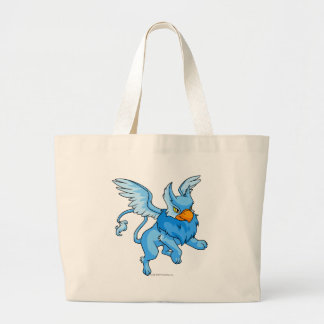 Eyrie Blue Large Tote Bag