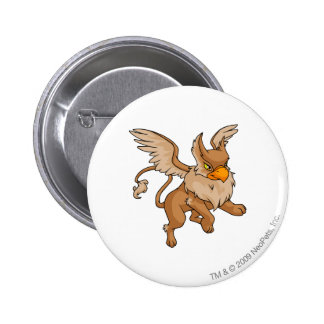 Eyrie Brown Pinback Button