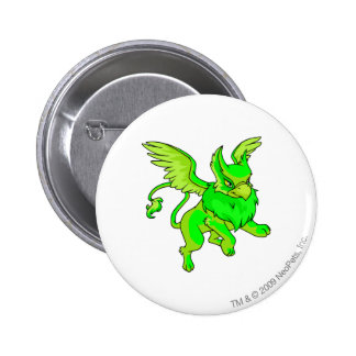 Eyrie Glowing Pinback Button